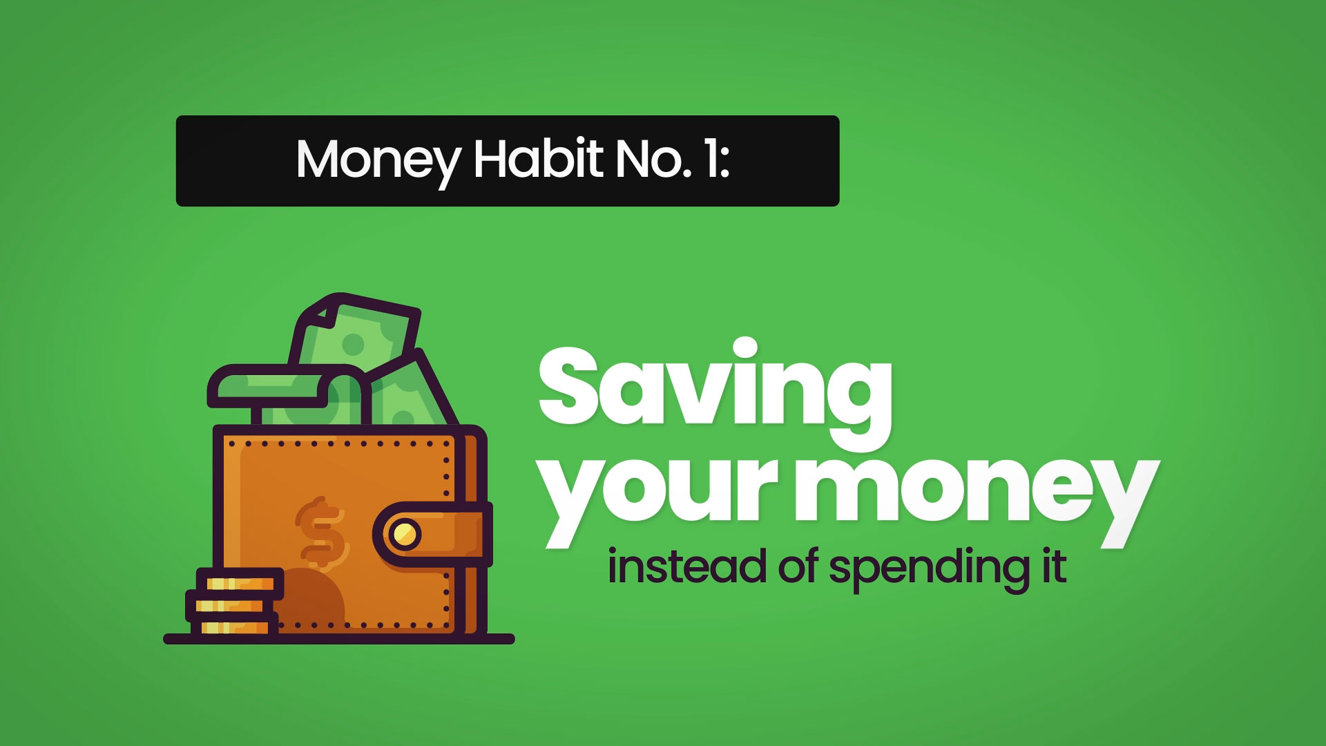 Money Habits No.1