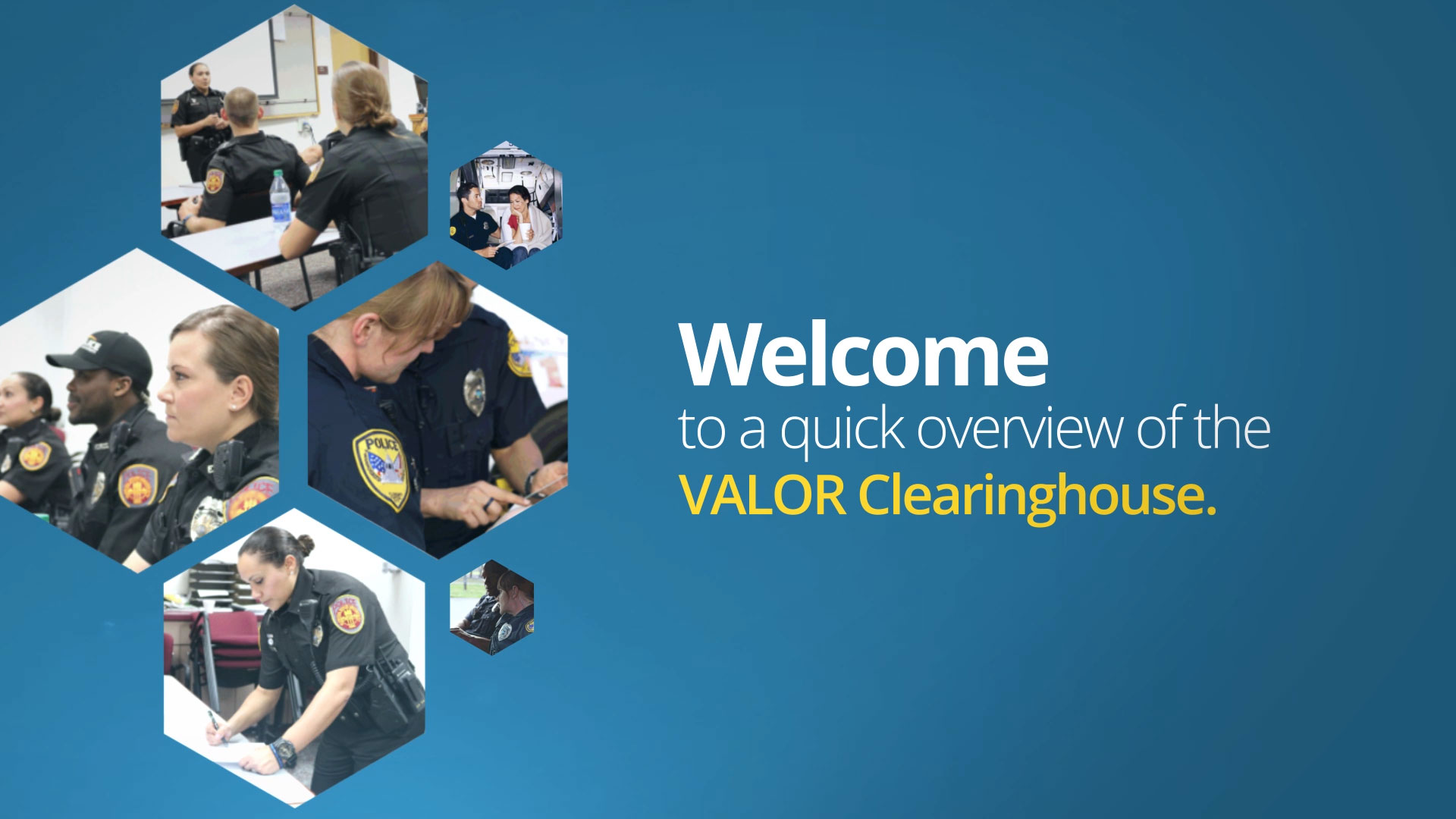 VALOR Clearninghouse