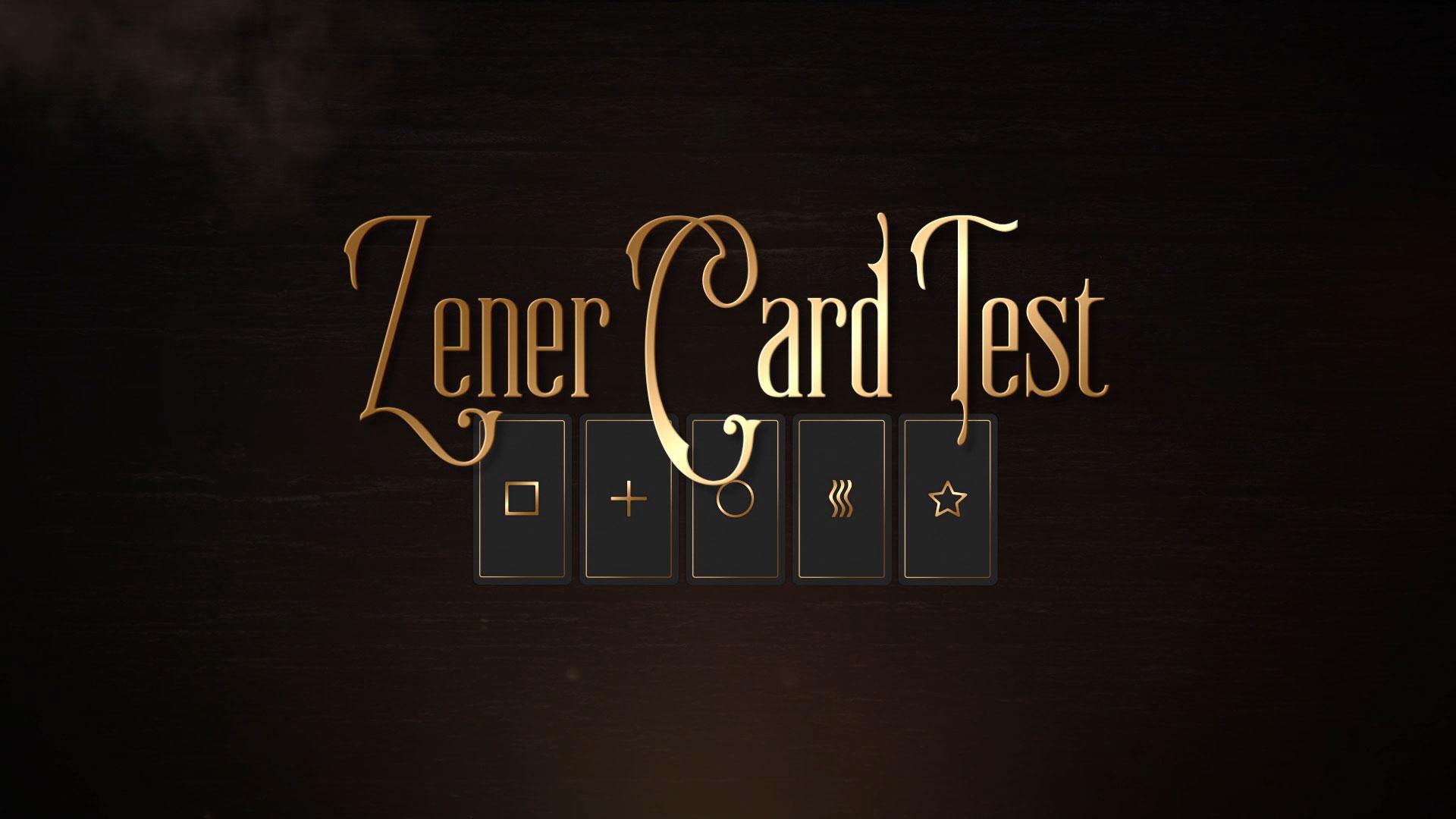 Zener Card Game Promo